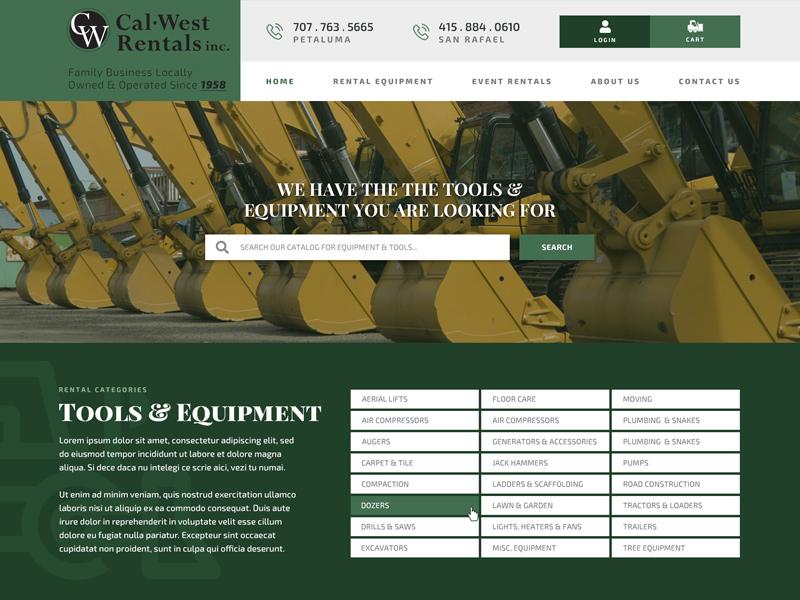 CaLWest Rentals