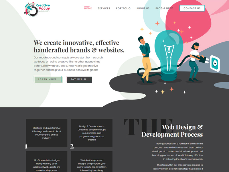 Creative Focus Web Design