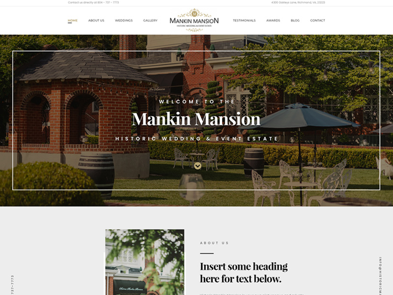Historic Mankin Mansion